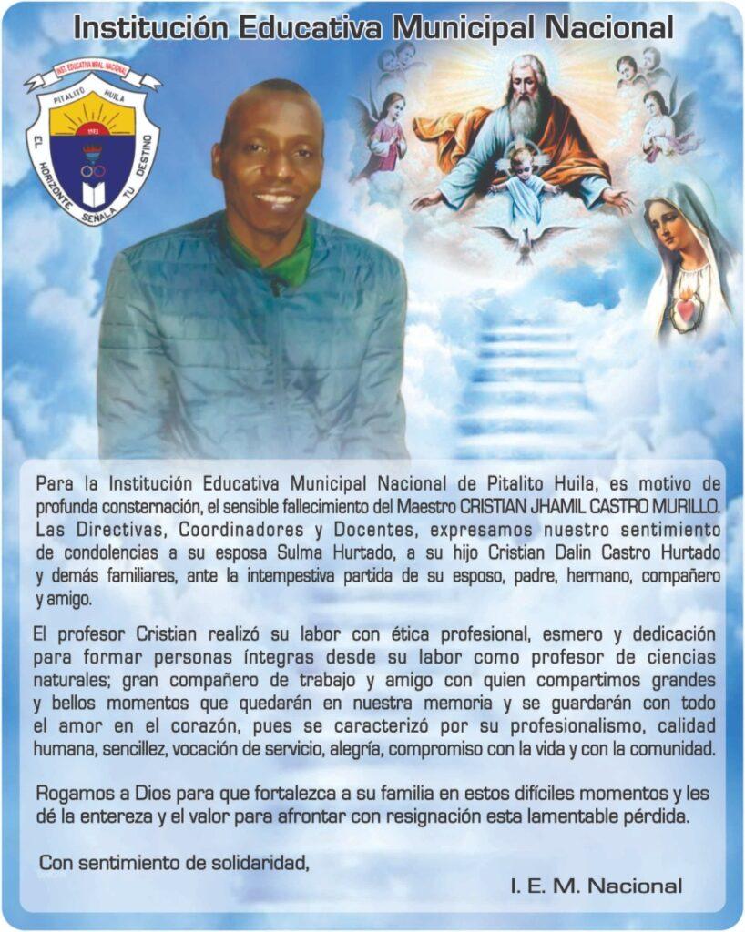 Cristian Jhamil Castro Murillo