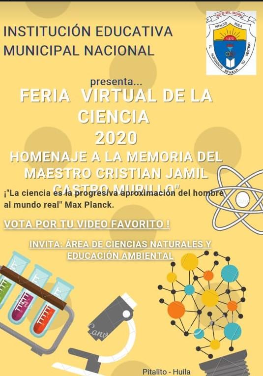 Feria de la Ciencia Virtual Nacional Pitalito